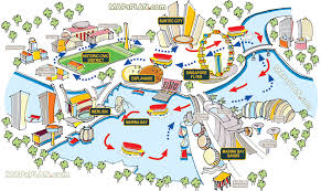 map attractions singapore maps top tourist attractions free printable city