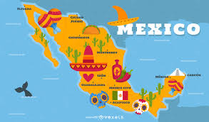 Mexico Maps Maps Graphics