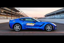 corvette stingray price 2014 chevrolet corvette stingray to pace the 2013 indy 500 race
