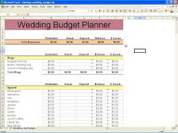 Free Printable Budget Spreadsheet by Free Printable Budget Wedding Checklist 1 Wedding Spreadsheet