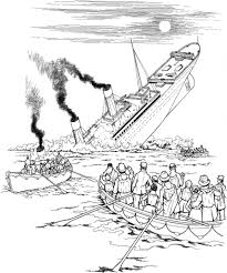 sinking ship drawing 13 pics of sinking battleship coloring pages