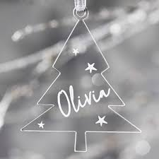 personalised christmas tree decoration u2013 sophia victoria joy
