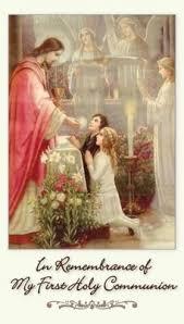 my communion remembrance of my holy communion prayer card
