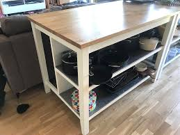 ikea stenstorp kitchen island breathingdeeply