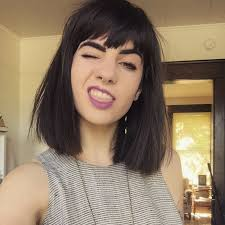 hair bangs short blunt square face best 25 chunky bangs ideas on pinterest where is blonde hair