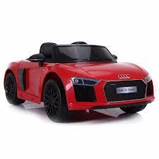 voiture de sport voiture de sport électrique 12v pour enfant audi r8 spyder cristom