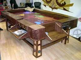 coffee tables that turn into tables turn pool table into dining table pool table dining room conversion