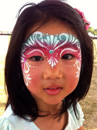 rockyourbodyart com face painting birthday party kids