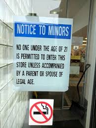 Liquor Signs Minors Not Admitted Without Their Spouses Sign Utah State U2026 Flickr