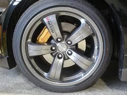 nissan 350z oem wheels rl calipers fit behind 05 tl 17