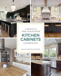 are wood kitchen cabinets outdated 9 upgrades to make your outdated kitchen cabinets look brand