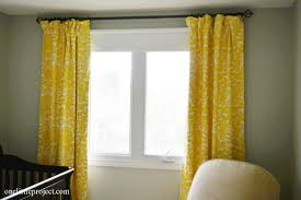 Curtains That Block Out Light To Make Blackout Curtains Tutorial