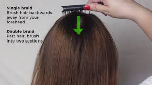 medium length hairstyles from the back how to french braid 14 steps with pictures wikihow
