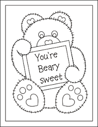 printable valentine cards kids free valentine coloring cards