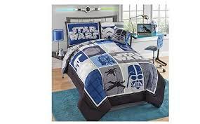 star wars twin reversible comforter set darth vader disney kids