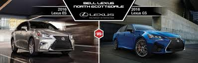 lexus es 2016 2016 lexus es vs 2016 lexus gs in north scottsdale az bell lexus