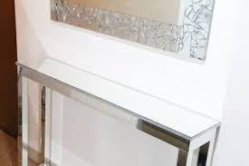 Mirrored Console Table Diy Mirrored Console Table Diy Room Decor Ideas
