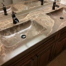 custom concrete vanity top prosource wholesale