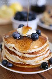 blueberry buttermilk pancakes grace and good eats