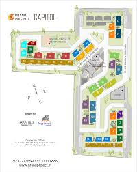 typical floor plan grand project capitol 2 3 bhk flats u0026 duplex apartments floorplans