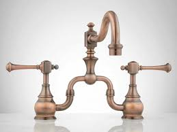 copper faucets kitchen asaro kitchen faucet with pull spout kitchen within