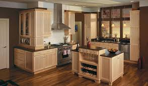 natural maple kitchen cabinets beadboard cupboards merillat classic avenue in maple natural