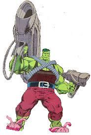 incredible hulk merged hulk professor incarnation