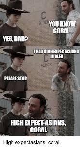 Hey Carl Meme - bloc you know coral yes dad hadhigherpectasians inglen block please