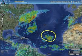 Map Caribbean Sea by Pdc Weather Wall Tropical Cyclone Activity Report U0026 8211