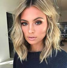 lob hairstyle pictures wavy lob hairstyle haircuts hairstyles 2018