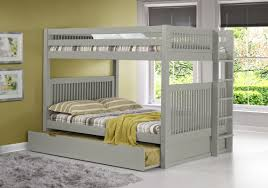 Solid Wood Bunk Beds With Trundle by Camaflexi Full Over Full Bunk Bed With Trundle U0026 Reviews Wayfair