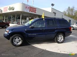 2004 midnight blue pearl jeep grand cherokee laredo 4x4 28802393