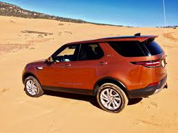 orange land rover discovery first drive the 2017 land rover discovery gets its quirks ironed out