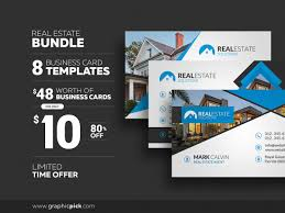 8 real estate business cards graphic pick