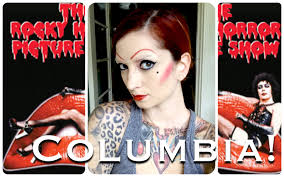 Rocky Horror Halloween Costume Columbia Rocky Horror Picture Show Halloween Hair U0026 Makeup