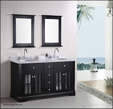 unique 55 inch bathroom vanity double sink shower room idea
