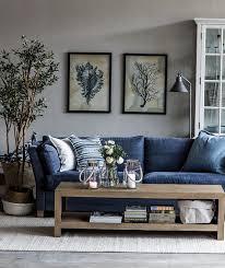 прибрежные зарисовки от home u0026 cottage couch blue and blue jeans