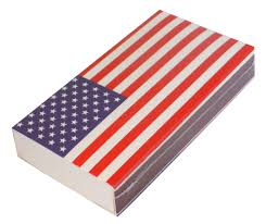 Design Of American Flag The Joy Of Light Designer Matches Usa American Flag Leaf Embossed