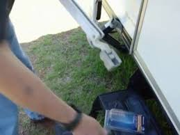 Horizon Awning Parts Replacing A Rv A U0026e Series Awning Rafter Arm Slider Assemble Youtube