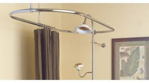 Large Shower Curtain Rings Carnation Home C Shower Curtain Hooks In Brushed Nickel Throughout