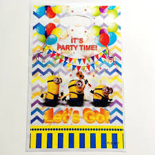 minion gift bags aliexpress buy 10pcs despicable me minion gift bags