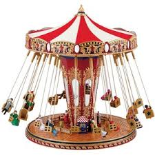 mr world s fair swing carousel musical ornament polyvore