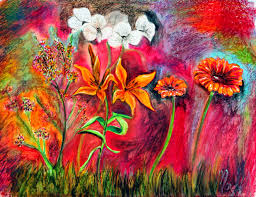 art paintings ideas for your wall decor flower art paintings