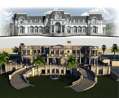 Mega Mansion Floor Plans Mansions U0026 More