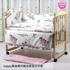 Baby Comforter Sets Bumper And Quilt Sets For Cots Bumper Bedding Sets For Cots 7pcs