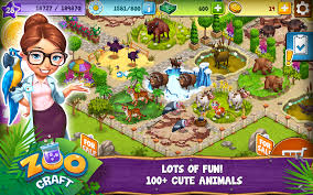 Bored At Home Create Your Own Zoo Zoocraft Android Apps On Google Play