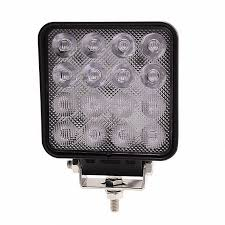 420 lumen led work light 0 420 48 durite 12v 24v 16 x 3w led reverse and work l