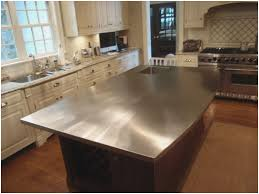 stainless kitchen islands inspirational kitchen island with stainless steel countertop