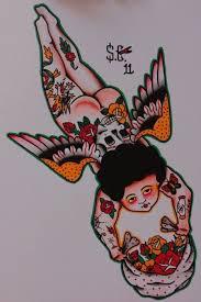 inked cherub tattoo design best tattoo designs