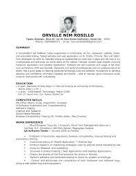 Agile Testing Resume Sample by Download Qa Test Engineer Sample Resume Haadyaooverbayresort Com